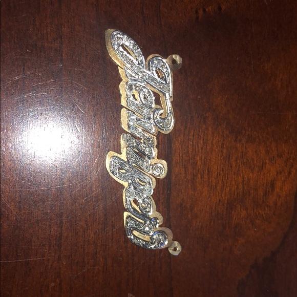 Jewelry - Jennifer Name Plate 14k gold